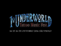 Vai rolar o 1º Underworld Tattoo Music Fest